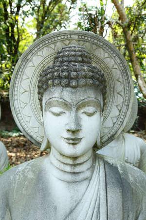 Stone Statue of Buddha in Wat Thai,Thailand