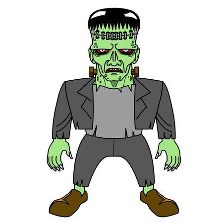 clipart frankenstein: Halloween Frankenstein