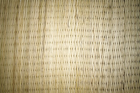 Thai native weave mat texture background, made from papyrus