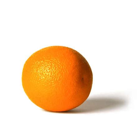 Orange on a white background Stock Photo