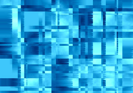 Background with blue squares Stock Photo