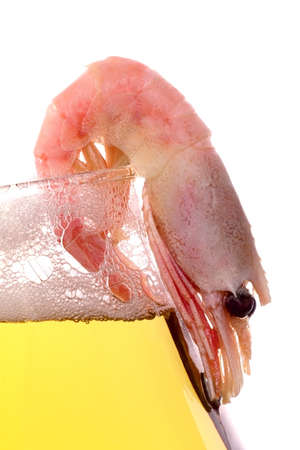 beerglass: Shrimp with beer