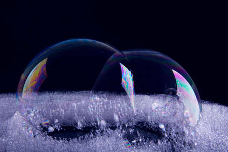 reflected: Bubbles