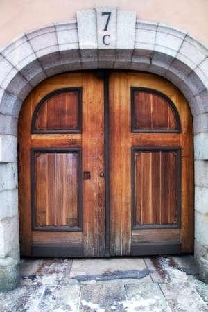 Old antique door