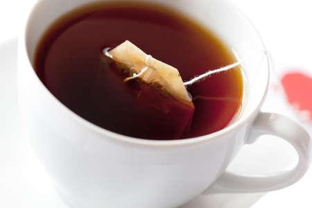 Macro of tea Stock Photo