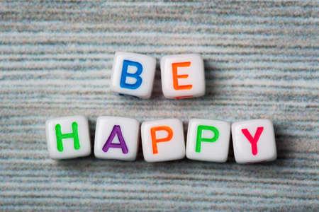 Words be happy macro