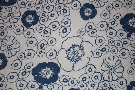 An art of a flower shape bedcover Stock Photo - 16385036