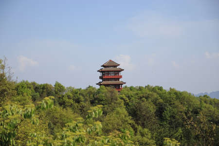 Pagoda of Tien mansan photo