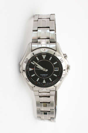 An isolated modern watch photo