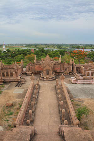 The historical architecture at Ancient Siam