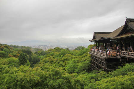 dera: Kiyomizu temple at Japan