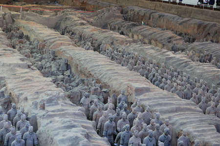Terracotta warrior in Xian Stock Photo - 25502409