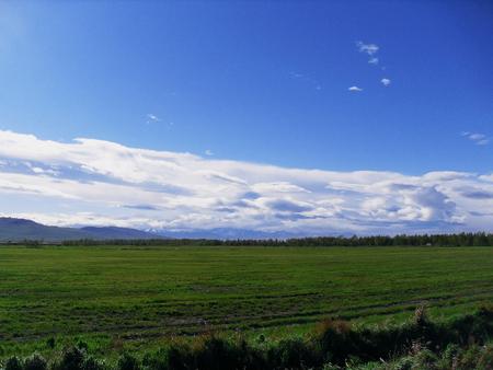 Field and clouds Фото со стока - 50937755