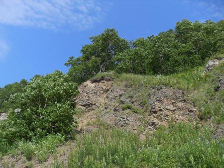 Stone slope Фото со стока