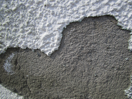 Wall. Plaster / The finishing layer is formed by the solidified building mixture, as well as the Фото со стока - 78009907