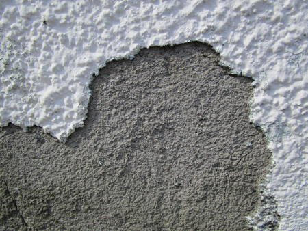 Wall. Plaster / The finishing layer is formed by the solidified building mixture, as well as the Фото со стока - 78032050