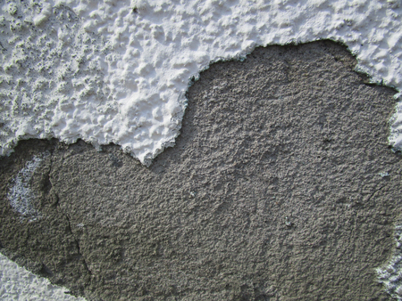 Wall. Plaster / The finishing layer is formed by the solidified building mixture, as well as the Фото со стока - 78032029