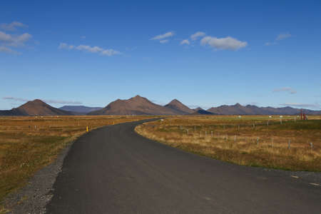 lonliness: iceland highlands Stock Photo