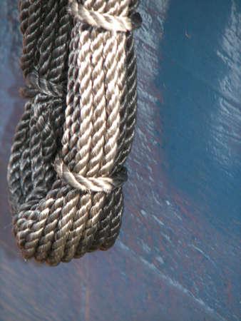 Hank of Rope 写真素材
