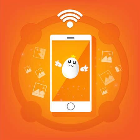 smartphone: smartphone graphic