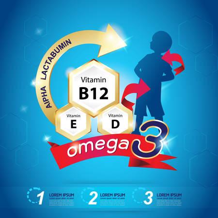 omega: Kids Omega 3 Vitamin