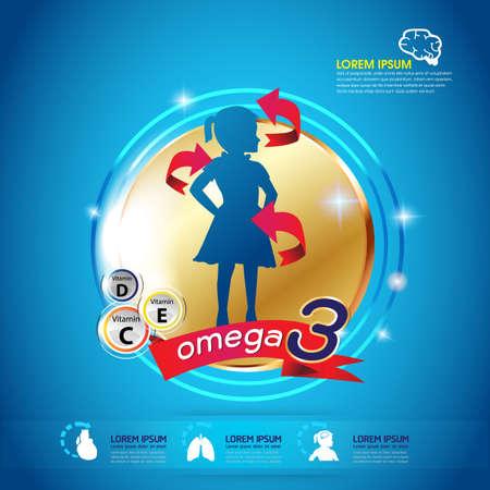 vitamin a: Kids Omega 3 Vitamin