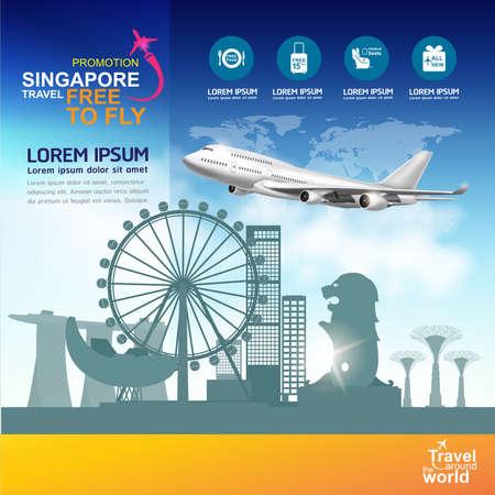 world travel: Travel Destination Concept Travel Around the World