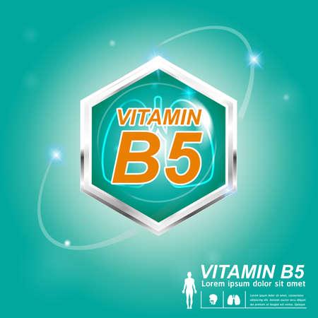 vitamin d: Nutrition  Label Vector Concept