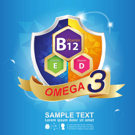 e liquid: Kids Omega Calcium and Vitamin - Concept  Gold Kids