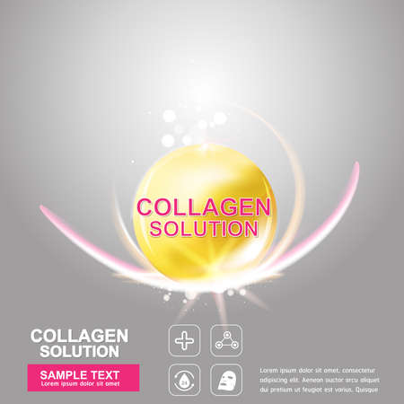 crinkle: Collagen Serum Concept Skin Care