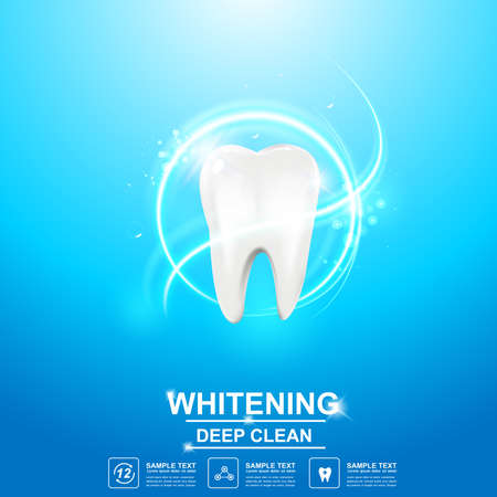 Dental care Tooth Icon vector Concept. Vector Illustration