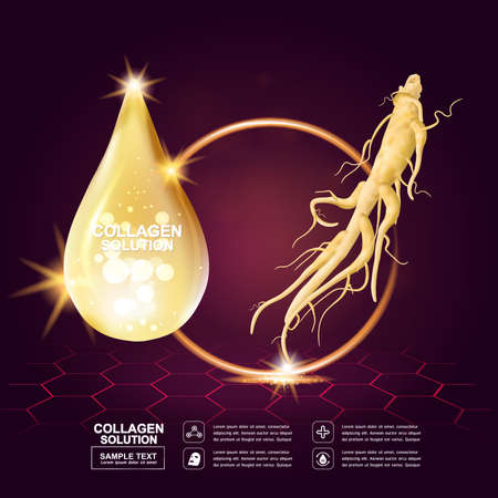 skin structure: Collagen Serum Concept Skin Care