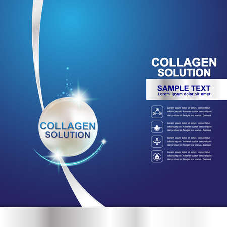 pucker: Collagen Serum Template, Concept Skin Care