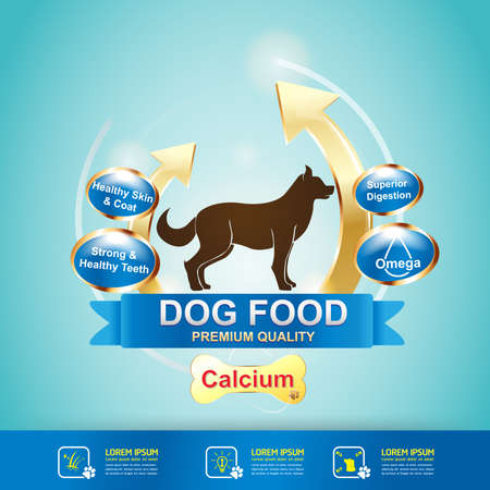Dog Food  Vector
