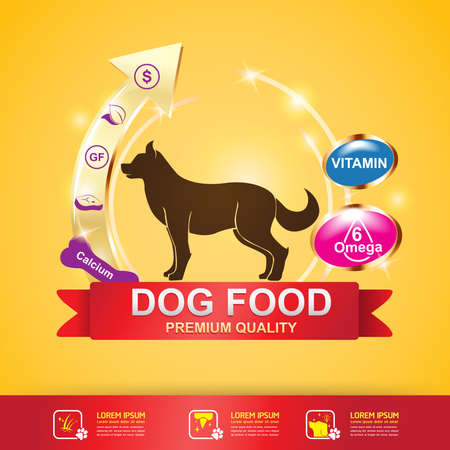 branded product: Dog Food  Vector