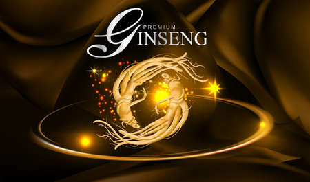 Ginseng Vector Illustration