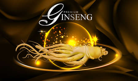 Ginseng Vector Stock Illustratie
