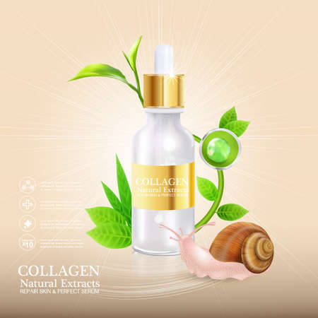 Collagen or Serum snail  Collagen or Serum snail  Collagen or Serum snail  Collagen or Serum snail  Collagen or Serum snail  Collagen or Serum snail  Collagen or Serum snail  Collagen or Serum snail  Collagen or Serum snail Illustration