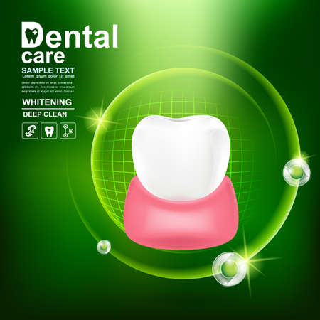 Dental care Tooth Icon vector Concept.
