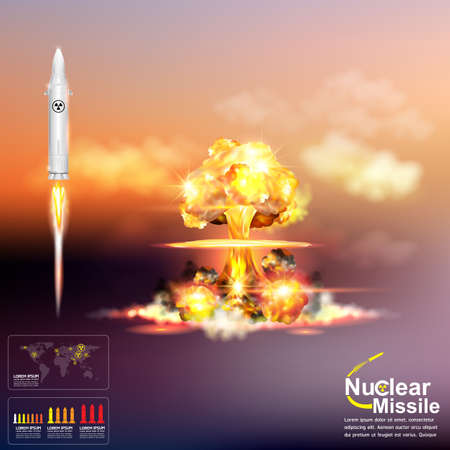 World war Nuclear Missile
