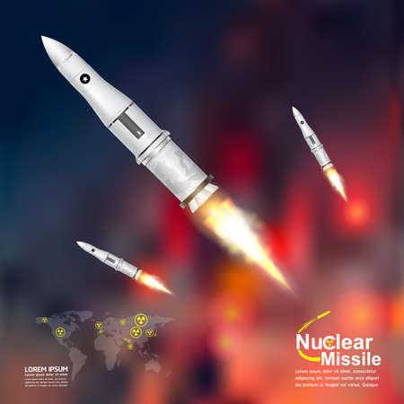 Missile nucleare della guerra mondiale