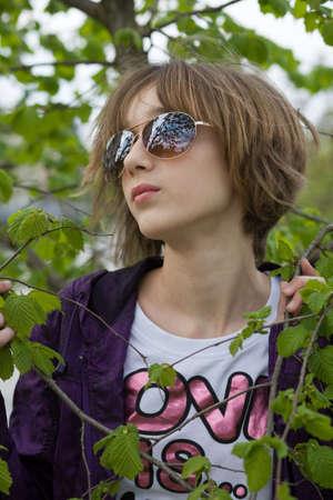 arbol de problemas: Adolescente en el Parque