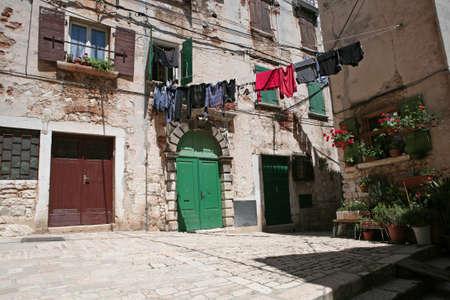 Old mediterranean house photo