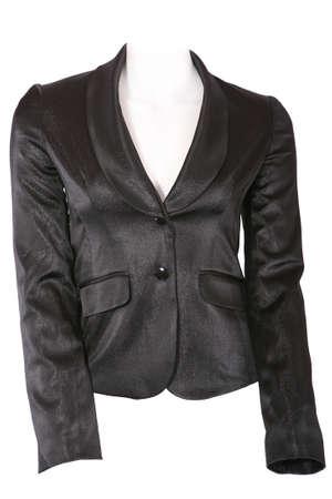 Female jacket isolated on white photo