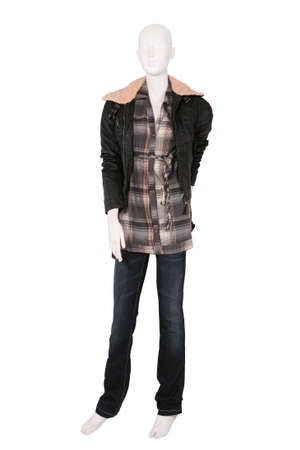 Female clothing on a mannequin isolated on white Stock Photo - 8439449