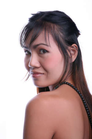 Beautiful young Thai woman poses nude photo