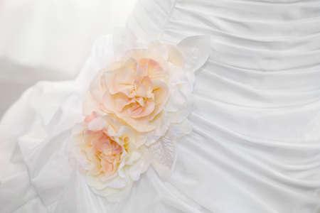 formal clothes: Wedding dress detail