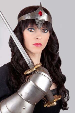 Princess with a sword photo
