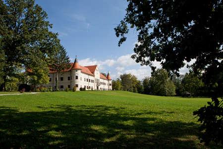 Luznica baroque manor near Zagreb, Croatia Stock Photo - 22926870