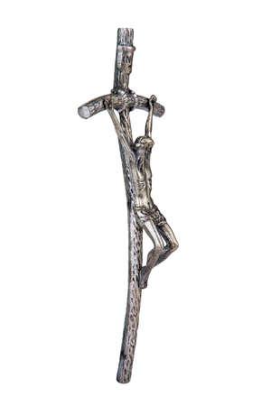 法皇ジョン Paul II、側のビューを使用していたベント クロス十字架
